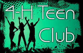 Image result for 4-h teen club